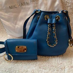 Michael Kors small purse with matching wallet